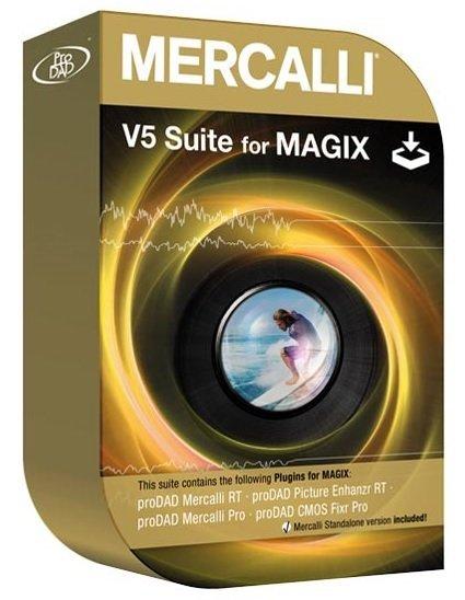 proDAD Mercalli V5 Suite for MAGIX 5.0.516.2