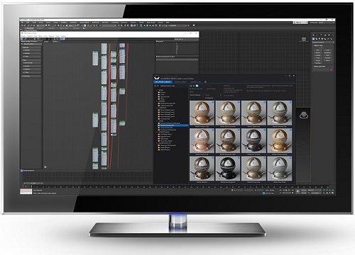 SIGERSHADERS XS Material Presets Studio v2.8 Max 2013-2022 Full