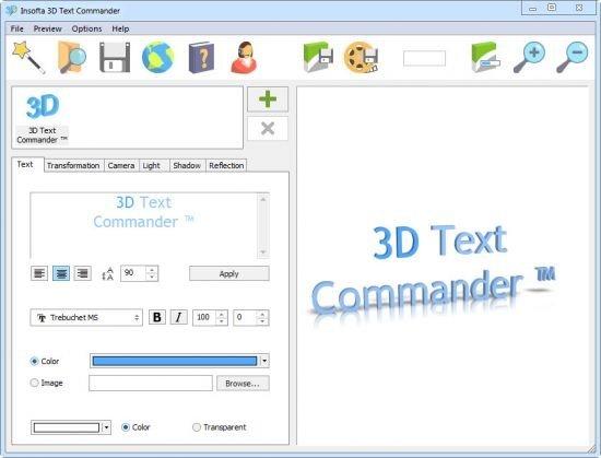 Insofta 3D Text Commander 6.0 Multilingual