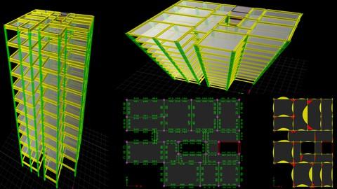 ETABS- Learn Building Analysis Design & AutoCAD Detailing
