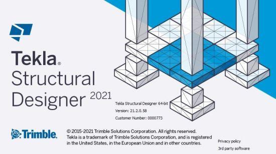Tekla Structural Designer 2021 SP3 v21.3.0.72 Update Only (x64)