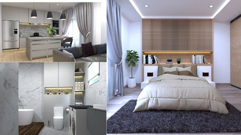 Learn Interior Design with Sketchup and Vray
