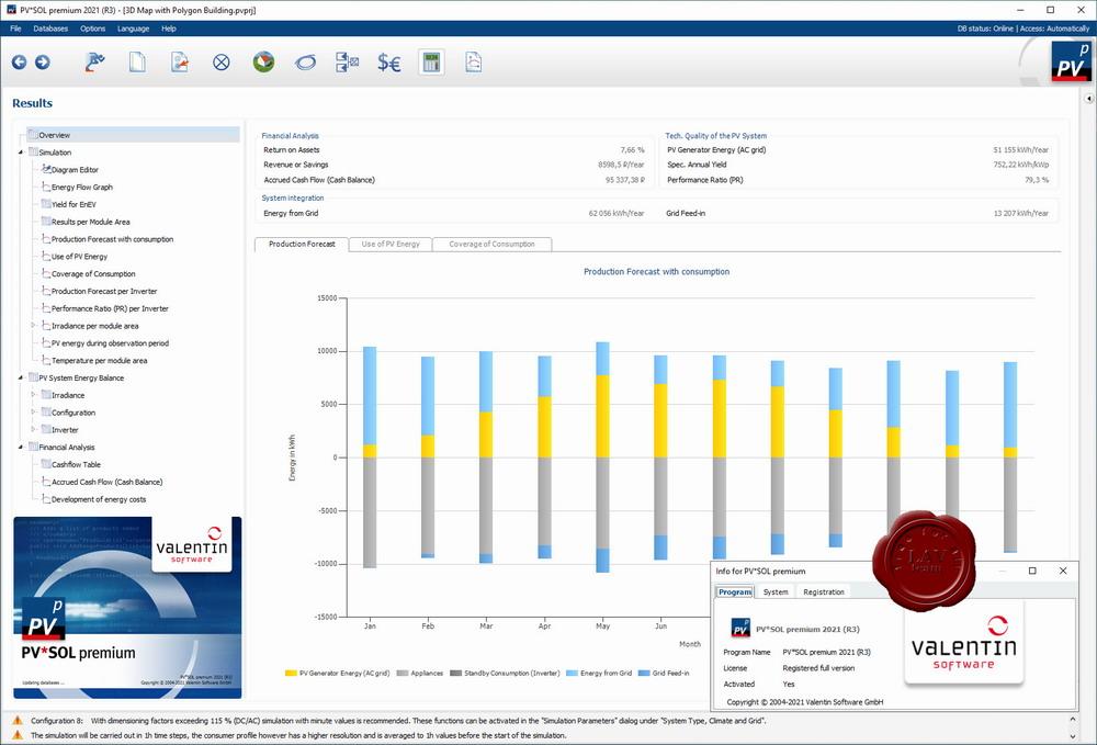 Valentin Software PV*SOL premium 2021 R3