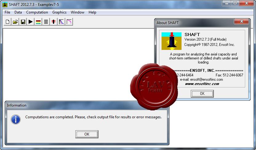 Ensoft Shaft v2012.7.3 x86
