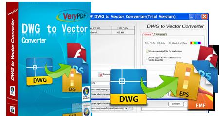 VeryPDF DWG to Vector Converter 2.0