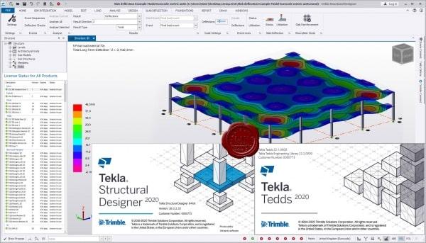 Trimble Tekla Structural Design Suite 2020: Designer v20.0.2.33, Tedds v22.1.0000