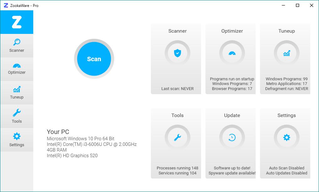 ZookaWare Pro 5.2.0.18