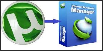 تحويل روابط تورنت مباشرة وتحميلها ببرنامج Internet Download Manager