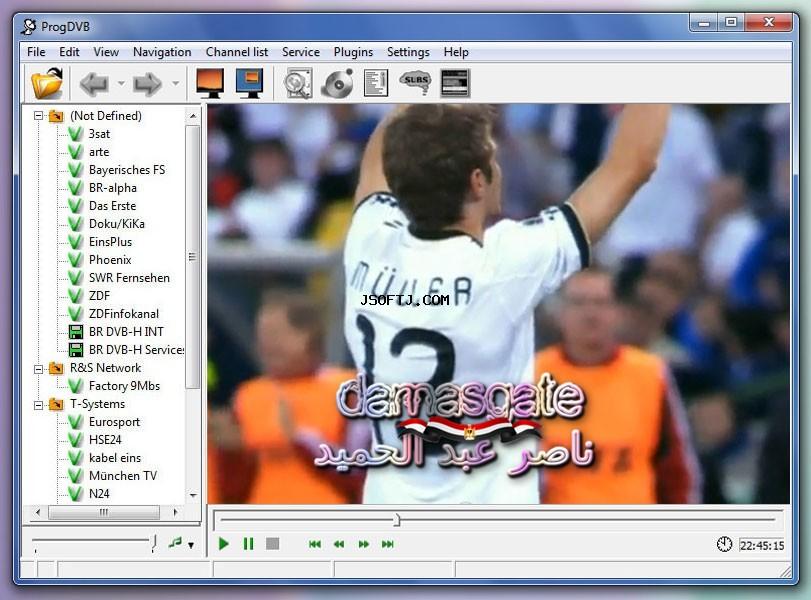تطبيق ممتاز تشغيل الستلايت ProgDVB Professional 7.17.6 Final