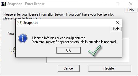 برنامج احتياطية للنظام إصدراته Drive SnapShot 1.46.0.18037