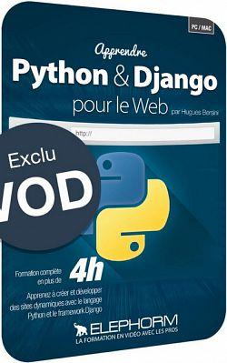 Elephorm Apprendre Python Django