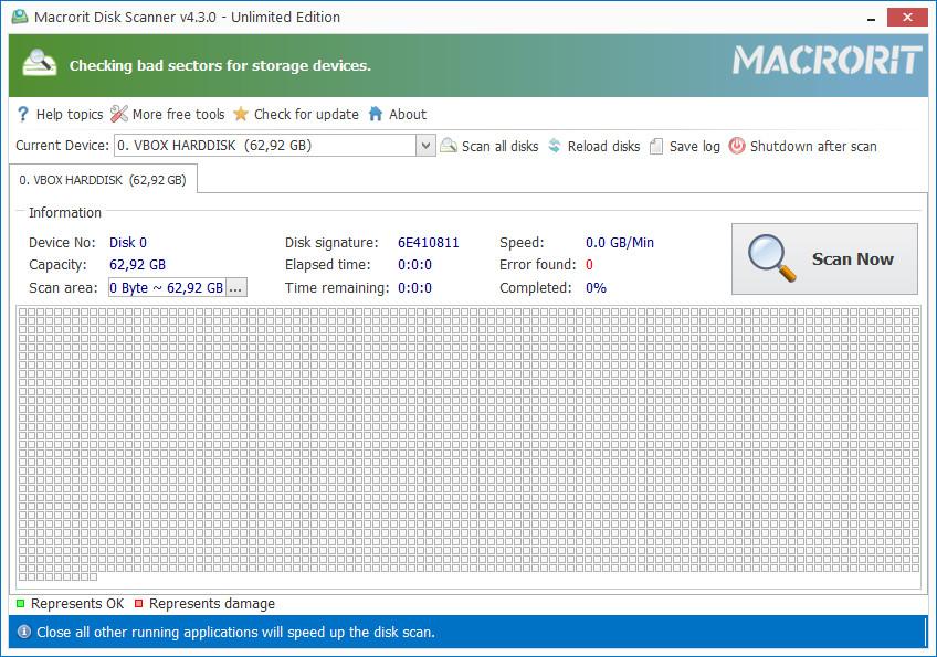 Macrorit Disk Scanner 4.3.0 + Portable