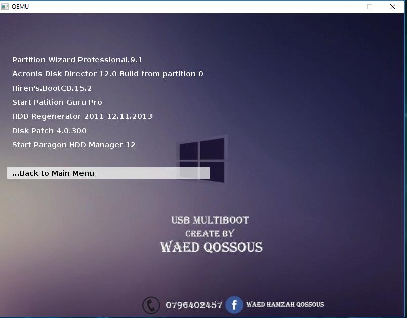 تجرتي برامج التنصيب الصامت Multiboot