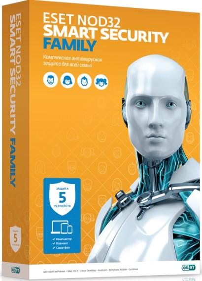 مجاني لبرنامج الحماية NOD32 Smart Security Family