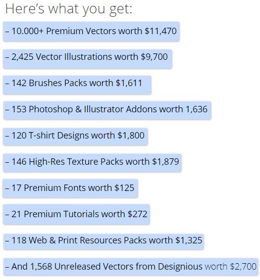 [Photoshop/Illustrator] 10,000 Vector InkyDeals ,000