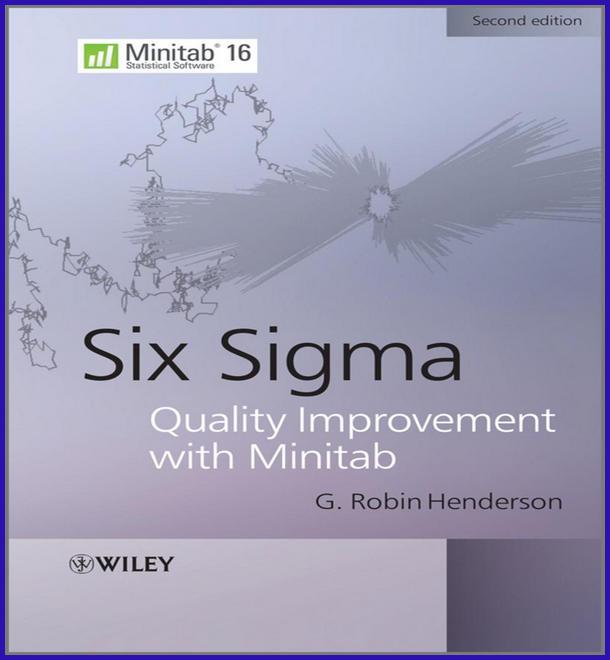 Sigma Quality Improvement Minitab, Edition الخاص بإدارة الجودة