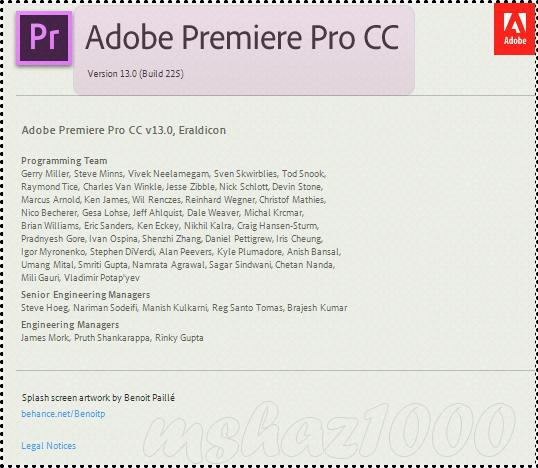 مفعله وجاهزه أدوبي بريمير Adobe Premiere