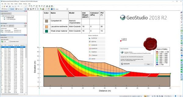GEO-SLOPE GeoStudio 2018 R2 v9.1.1.16749