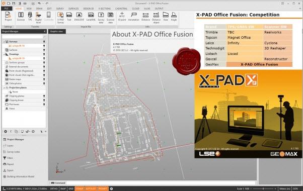 GeoMax X-PAD Office Fusion v4.1.700