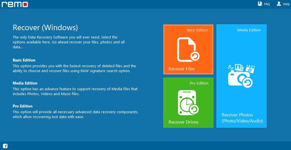 برنامج استعادة الملفات المحذوفة Recover Windows 4.0.0.67