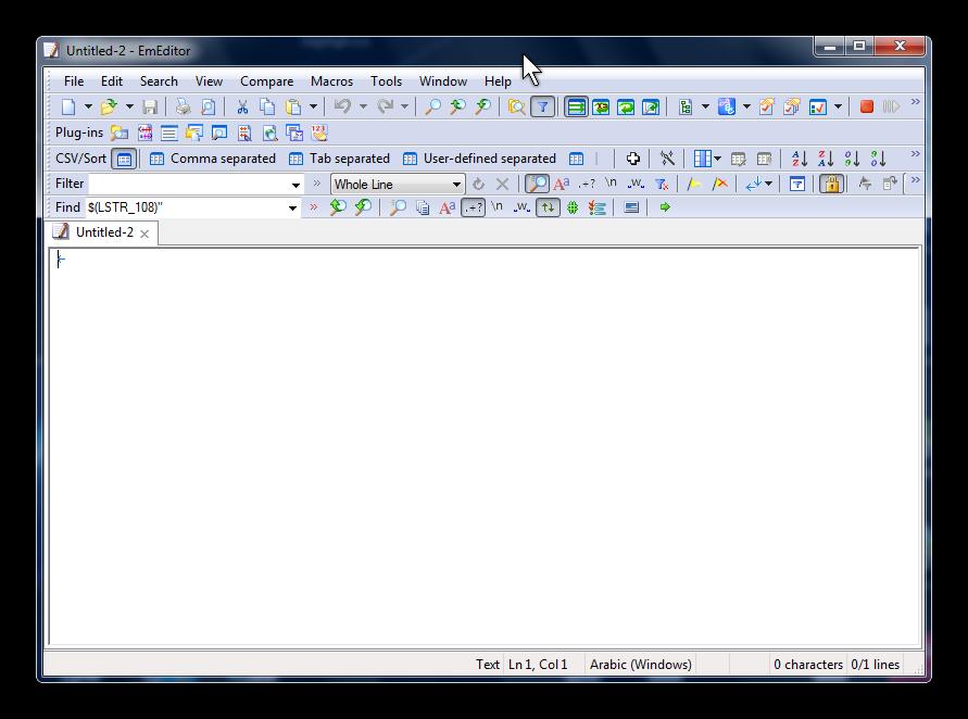 Emurasoft EmEditor x64+x32 برنامج النصوص البرمجية تنصيب للنواتين