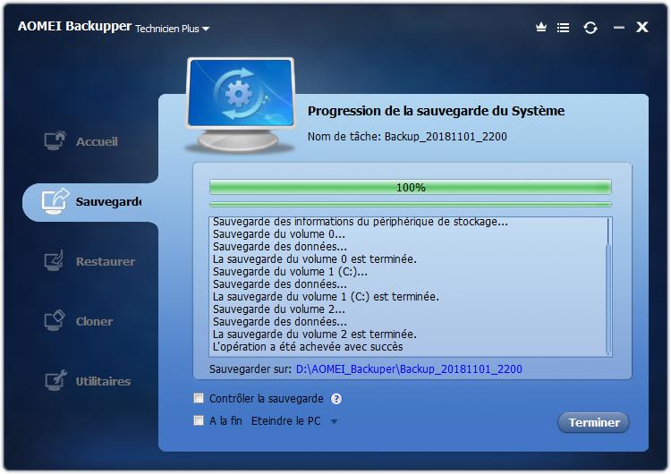 أدوات مفيدة والإصدارات المحمولة AOMEI Backupper Technician 4.5.6 portable