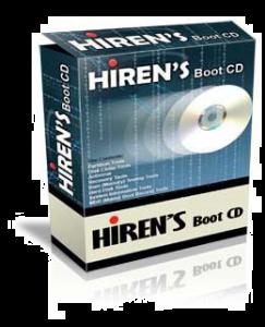 Hiren's BootCD بصيغة