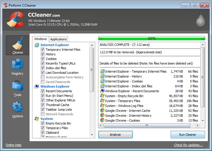 برنامج تنظيف الجهاز الشهير CCleaner 5.01.5075 جديدة