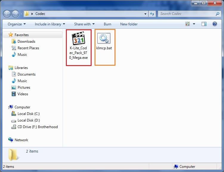 احترف استخدام الملفات الدفعيه برنامج K-Lite Codec