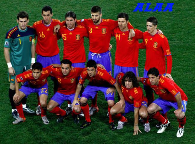 تاريخ منتخب إسبانيا المتدور