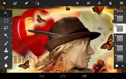 تحميل برنامج ادوبى فوتوشوب للاندرويد 1.7.5 Adobe Photoshop Touch