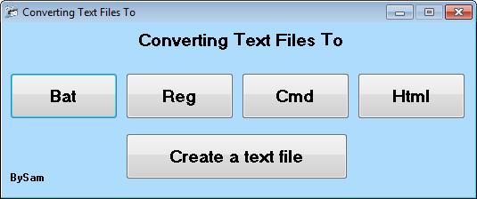 تحويل الملفات النصية ملفات متعددة متنوعة ومتعددة الاستخدامات Converting