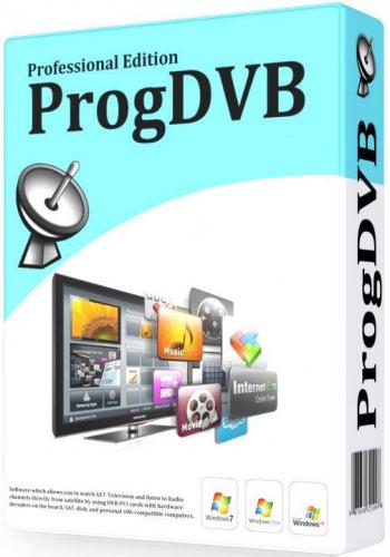 ProgDVB Standard القنوات الفضائية الإنترنت إصدار