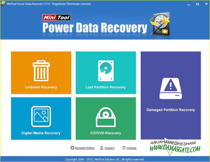 عملاق استعادة الملفات المحذوفهMiniTool Power Recovery v6.6.0.0 +تثبيت