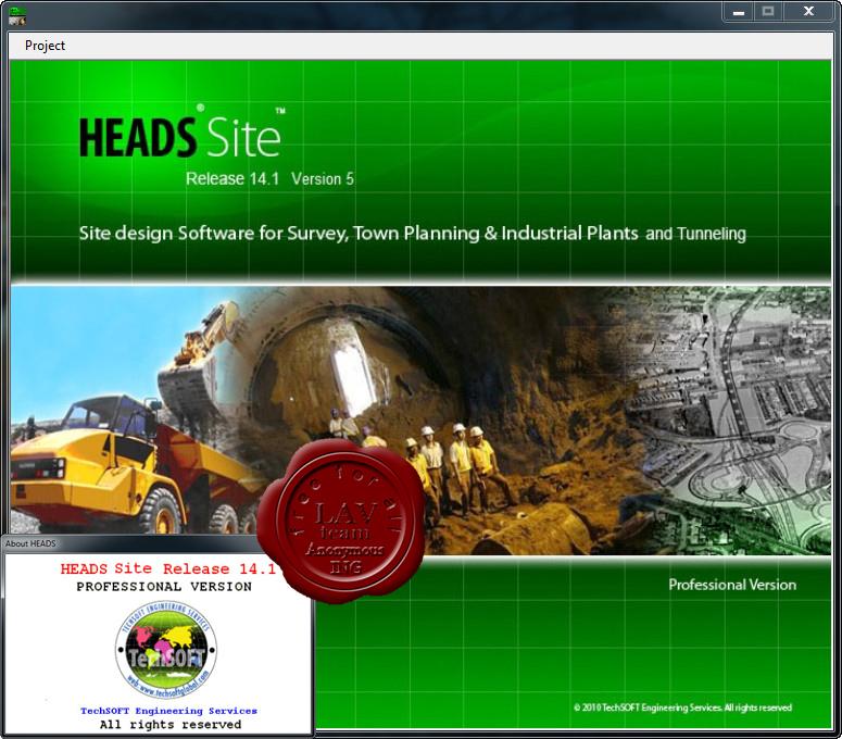 Techsoft HEADS Site v14.1 build 5