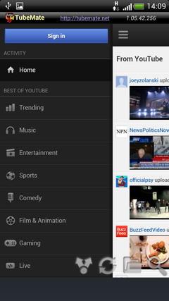برنامج التحميل اليوتيوب اصدار TubeMate YouTube Downloader v1.05.47